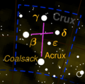 Crux constellation map negative.png