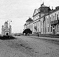 Csíkszereda 1941, Vártér. Fortepan 6054.jpg