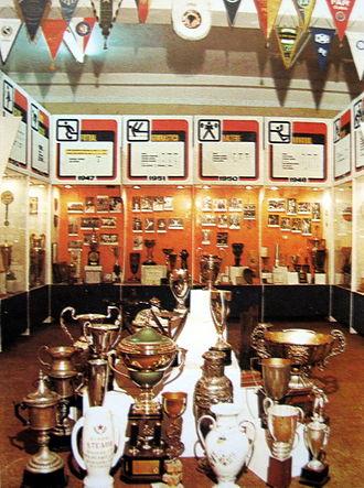 CSA Steaua București - The trophy room