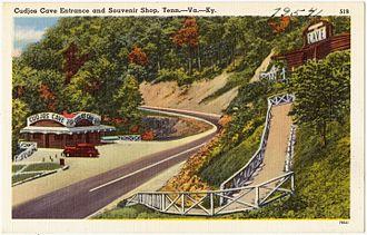 Gap Cave - Postcard c.1940s