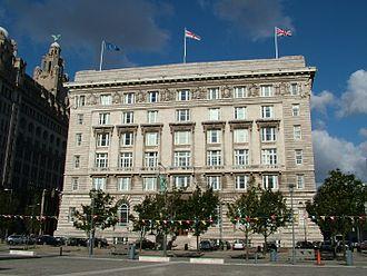 Cunard Building - Image: Cunard Building Front