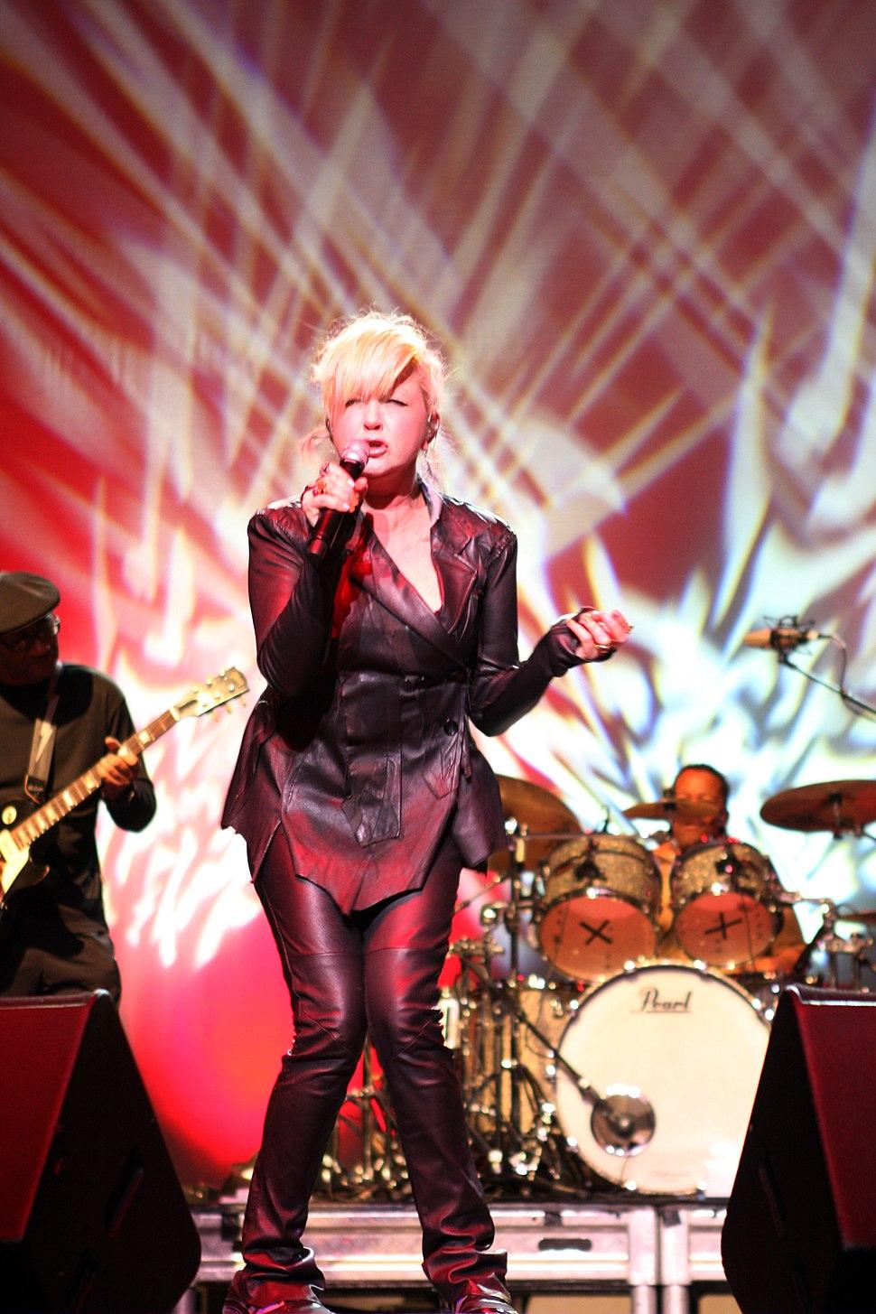 Cyndi Lauper in 2011