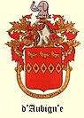 D'Aubign'e Family Coat of arms.jpg