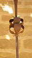 Détail de la croix de l'église de Manses Ariège.jpg