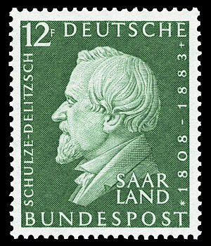 Franz Hermann Schulze-Delitzsch - Image: DBPSL 1958 438 Hermann Schulze Delitzsch