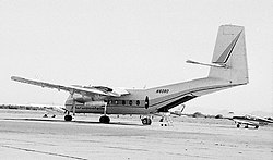 DHC-4 Caribou (Intermountain) Marana 1973.jpg