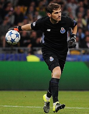 Iker Casillas - Casillas with Porto in 2015