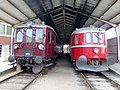 DSB MO 1954 and DSB MS 401 at Jernbanemuseet 01.jpg