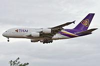 HS-TUA - A388 - Thai Airways