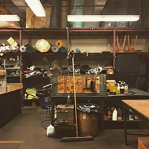 New York City Department of Sanitation - Image: DSNY Central Repair Shop Upholstery Studio