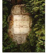 Dachau Krematorium sign