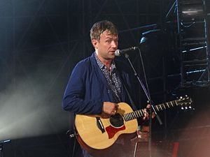 Damon Albarn - Albarn with Blur at the Rock in Roma, 2013