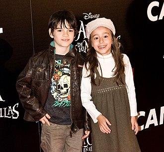 Daniel Avilés - Daniel Avilés and Priscilla Delgado in 2010