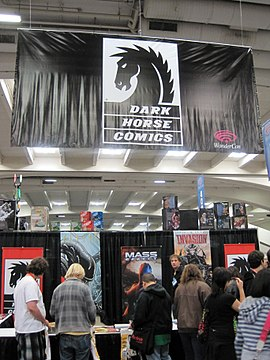 Dark Horse Comics booth at WonderCon 2010.JPG