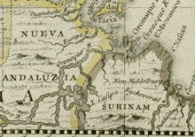 Darlinton map of the Orinoco River 1680.png