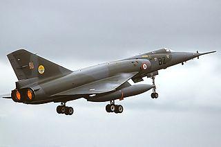 Dassault Mirage IV French supersonic strategic bomber