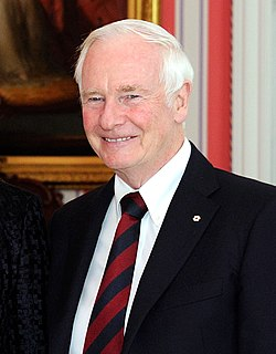 David Johnston Governor General of Canada