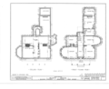 Dean's House, 73 Nassau Street, Princeton, Mercer County, NJ HABS NJ,11-PRINT,4A- (sheet 4 of 9).png