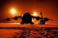 Defense.gov News Photo 120112-F-KE165-005 - Air Force maintainers remove snow from a C-17 Globemaster III at Joint Base Elmendorf-Richardson Alaska on Jan. 12 2012. The airmen are assigned.jpg