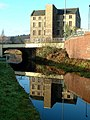 Deighton Mills (Barntex Ltd) and the A62 Bridge - geograph.org.uk - 95235.jpg