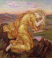 Demeter mourning Persephone 1906