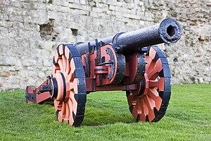 Demi-culverin - Demi-culverin cast circa 1587