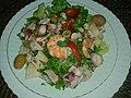 Deniz ürünleri salatası (home-made salad).jpg