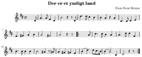 Partition de l'hymne