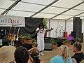 Derek Sandy performing at Yarmouth Old Gaffers Festival 2011 9.JPG