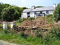 Derelict house on the west side of the road to Mizen Head - Corran Beg Townland - geograph.org.uk - 2439130.jpg