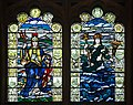 Derry Guildhall Great War Memorial Window 4 Lower Lights 2013 09 17.jpg