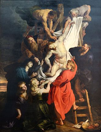 The Descent from the Cross (Rubens) - Image: Descent from the Cross (Rubens) July 2015 1a