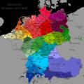 Deutsche Dialekte (nur Karte).png