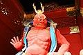 Deva king, Nio-mon gate, Taiyuin-byo temple (3810327280).jpg