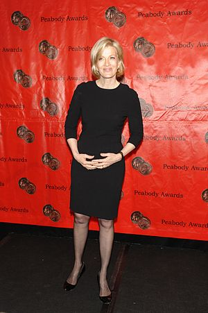ABC World News Tonight - Diane Sawyer was the anchor of World News from 2009-2014.