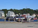 Die Alexandra fährt durch den Hafen (Flensburg 2013).JPG