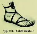 Die Frau als Hausärztin (1911) 104 Antike Sandale.png