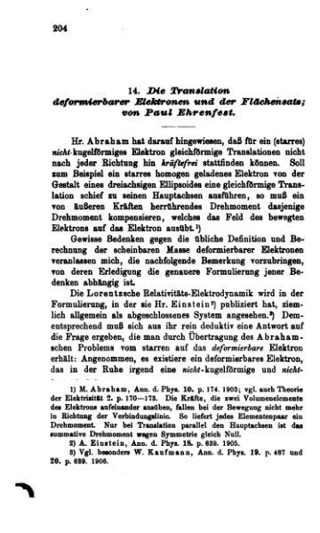 File:Die Translation deformierbarer Elektronen und der Flächensatz.djvu
