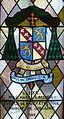 Dieulouard, vitrail dans la crypte de l'église Saint-Sébastien.jpg