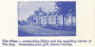 Digby Pines Golf Resort and Spa - Promotional Photograph of Digby Pines in 1936