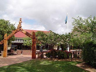 Dilworth School - Photo of the Senior Campus entrance.
