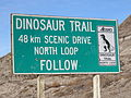 Dinosaur Trail AB sign.JPG