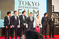 "Directors of ""Asian Three-Fold Mirror"" at Opening Ceremony of the 28th Tokyo International Film Festival (22241561519).jpg"