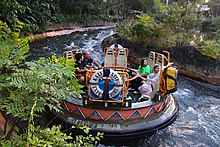 Kali River Rapids Raft