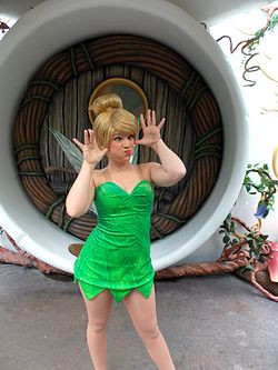 Disneyland Pixie Hollow silly Tinker Bell