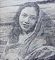 Djuriah Karno in Rentjong dan Surat Dunia Film 1 May 1955 p26.jpg