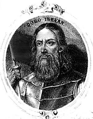 Voivode of Transylvania - Baron István Dobó of Ruszka, last voivode appointed by a king of Hungary (1553–1559)