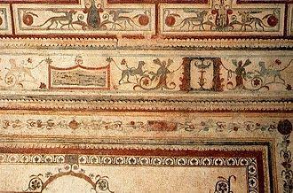 Grotesque - Roman frescos in Nero's Domus Aurea