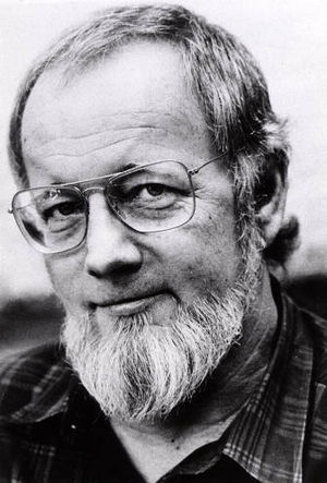English: Donald Barthelme, an American author ...