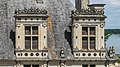 Dormer windows of the Chambord Castle 02.jpg